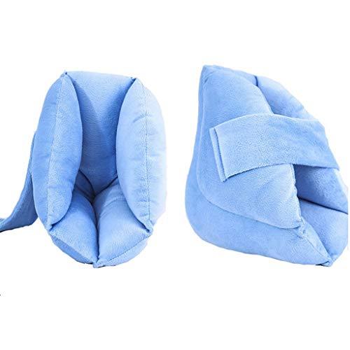Cómoda descompresión Anti-decúbito protector articulación tobillo,almohadilla protección talón para las personas mayores, lecho fractura atencion al paciente,2Pcs