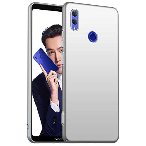 Compatible con Huawei Honor Note 10, funda ultrafina, ultrafina, resistente a los golpes, antihuellas, carcasa rígida, carcasa para Honor Note 10 plata Talla única