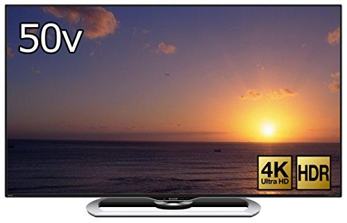 シャープ 50V型 液晶 テレビ AQUOS LC-50US40 4K HDR対応 低反射「N-Blackパネル」搭載 2016年モデル