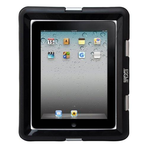 Pyle Hülle Universelle wasserdichte iPad Marine-Grad Gehäuse mit Kopfhöreranschluss, Schwarz, PWSIC30
