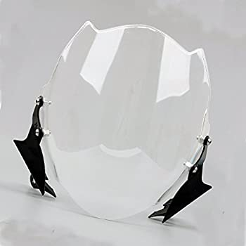 WindScreen Windshield For Ducati Monster 659/696/795/796/1100/1100S/1100EVO All Years  Clear