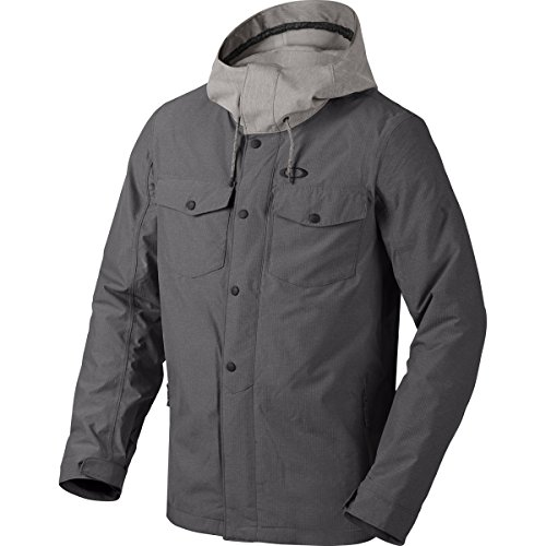 Oakley Men's Division BZI Jacket, Medium, Jet Black