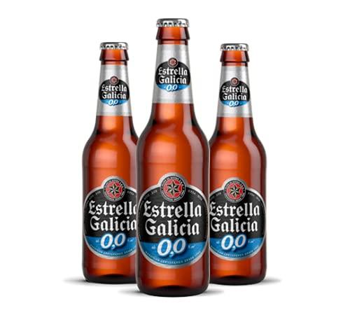 Estrella Galicia Cerveza sin Alcohol, Paquete de 6 x 250ml