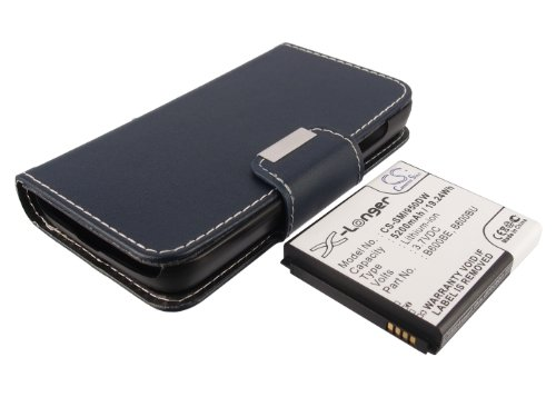 Batería Compatible con Samsung Galaxy S4 Li-Ion 3.7V 5200mAh - B600BE, B600BU, EB-B600BUB