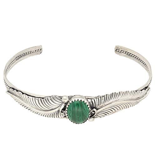 Jollys Jewellers Pulsera de plata de ley de 17,1 cm para mujer, 9 x 10 mm
