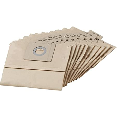 GENUINE KARCHER 10 Pk Filter Paper Vacuum Bags T 12//1 Vac 6904312 6.904-312.0