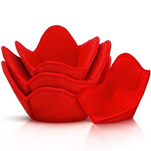 Bowl Huggers Microwave Safe Holder Multipurpose Hot Heat Insulation Plate Holder Polyester Potholder...