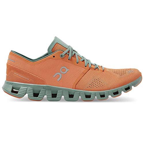 Cloud X Orange/Sea - Zapatillas Running Hombre