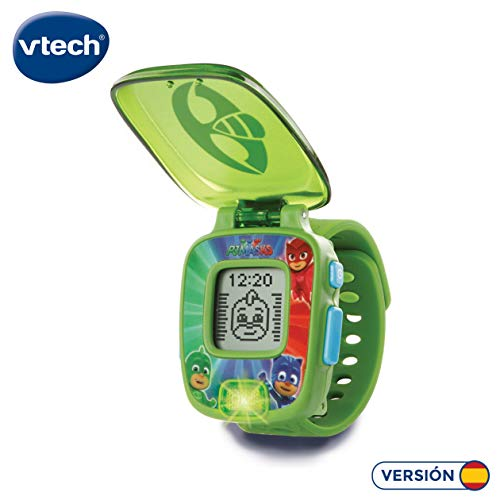 VTech PJ Masks Gekko, Reloj Digital Educativo, Color Verde (