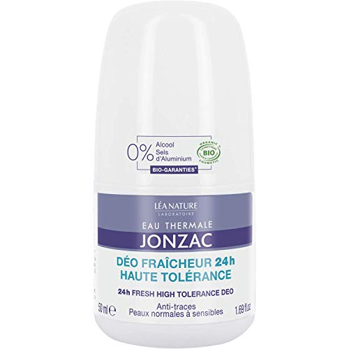 Eau Thermale Jonzac - Desodorante frescor 24 horas alta tolerancia 50ml -...