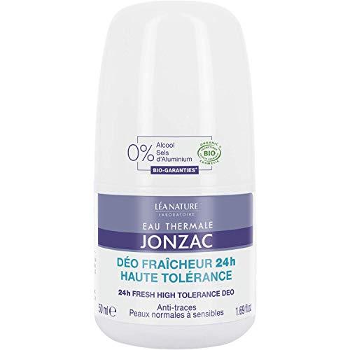 Eau Thermale Jonzac - Desodorante frescor 24 horas alta tolerancia 50ml - cosméticos orgánicos
