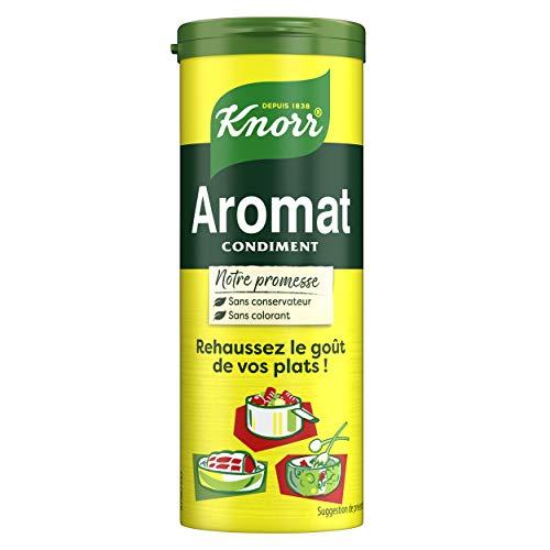 Knorr Assaisonnement en Poudre Aromat Condiment Pour Réhaussez le Goût de vos Plats 70g