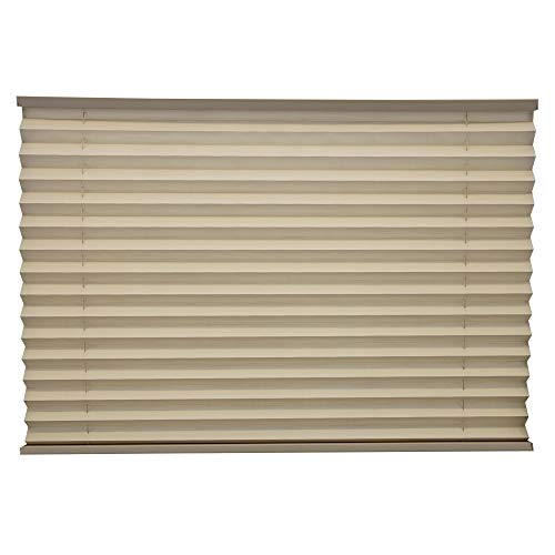 RecPro RV Blinds Pleated Shades | Cappuccino | RV Window Shades | Camper | Trailer (32' W x 24' L)