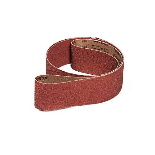 VSM KK711X Schleifband/Gewebe Schleifbänder | 75x2000 mm | 10 Stück | Korn/Körnung: 36 (10 Bänder)