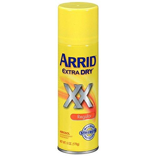 Extra Dry Regular Deodorant Spray by Arrid, 6 Ounce