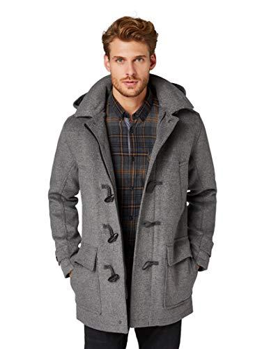 TOM TAILOR Wool Blend Dufflecoat Jackets, Tarmac gr, grau((2983)), Gr. M