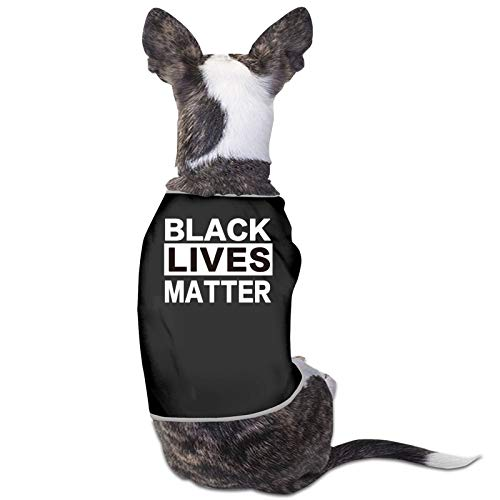 Black Lives Matter B Dog Cat Pet Shirts Cold Weather Dog Vest Clothes Pet Accessories