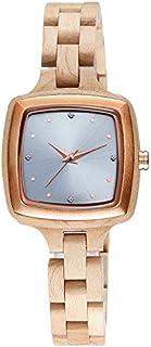 Xieifuxixxxnssb men's wrist watches Watch Minimalist Simple Women's Wrist Watches Ladies Wooden Dress Watches (Color : 1)