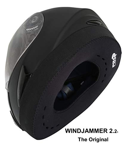 WINDJAMMER 2 'REDUCES WIND NOISE' fits all Full Face Helmets. The original often copied !