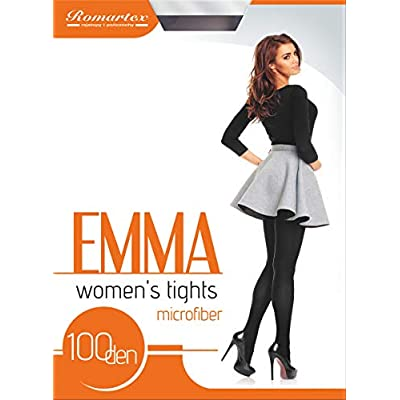 Sizes S-XL light blue M Opaque 100 Denier Tights by Romartex 23 Colours