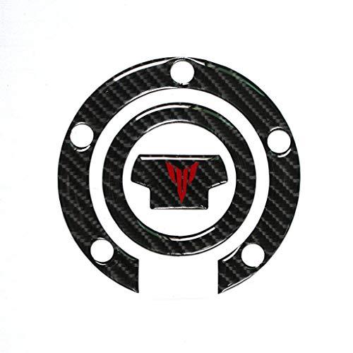 3D Carbon Tankdeckel Abdeckung Tankdeckel Pad für MT-07 MT-09