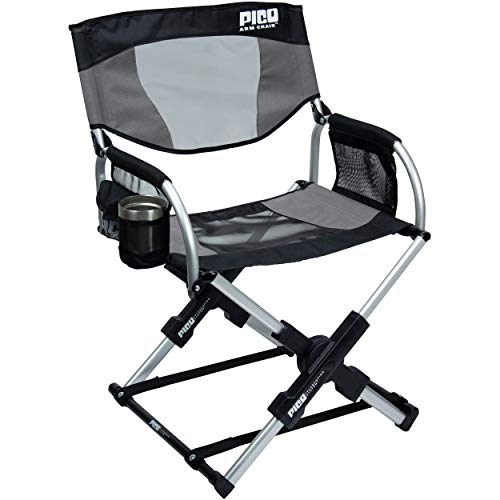 GCI Outdoor Pico Compact Folding Camp Chair with Carry Bag.