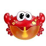 Baño De Burbujas Fabricante De Cangrejo Automática Ventilador De La Burbuja De La Máquina Con Pilas Del Juguete Del Baño Del Bebé Cangrejo Poemas Infantiles Para Niños Pequeños Para Niños Todas Las