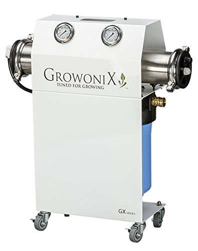 GrowoniX GX1000-KDF Reverse Osmosis System Ultra High Flow Rate Water Purification Filter for Hydroponics Gardening Growing Drinking H20 Coffee Point of use On Demand Purifier Most Efficient Eco