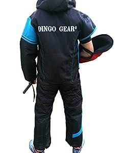 Dingo Gear Combinaison pour leurre ou Manuel, pour Dressage de Chien, Protection légère, Fait Main, Design Sportif, Excellente liberté de Mouvement