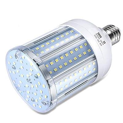 40W LED Bulb (280W Equivalent 6500K) Cool Daylight White Corn LED Bulb E26/E27 Medium Base for Indoor Garage Factory Warehouse Backyard