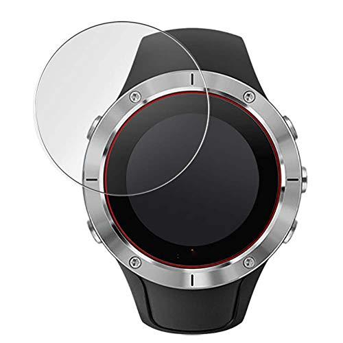 Vaxson 3-Pack TPU Pellicola Protettiva, compatibile con Suunto Spartan Trainer Wrist HR Smartwatch Hybrid Watch, Screen Protector Film [ Non Vetro Temperato ]