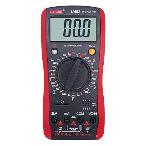 VAC VDC de alta tensión multímetro DMM multimetro multímetro digital