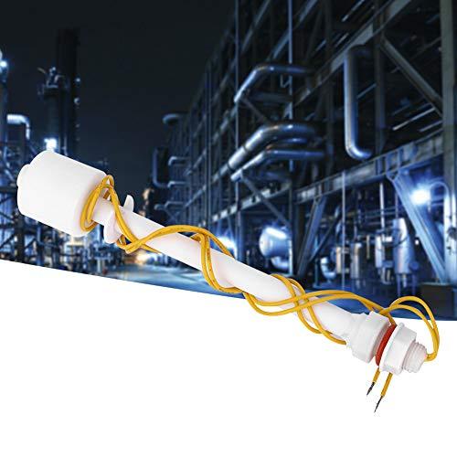 Weikeya Interruptor de nivel de líquido, sensor de nivel de líquido fiable 0 ~ 220 V, de plástico, -10 ~ + 85 °C.