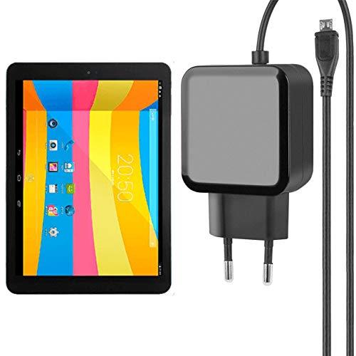 Fontastic Essential Ladegerät Micro-USB für Cube Talk 9X - Schwarz - 1,2m - 2,4A