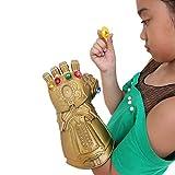 Bulex Infinity Gems LED Light Up Removable Magnet Gauntlet Glove for Kid