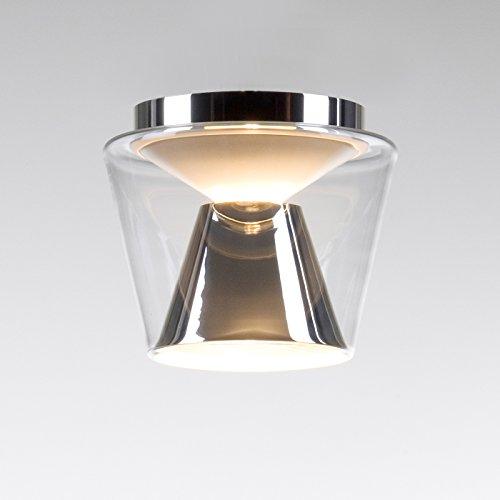 Serien Lighting Annex S Deckenleuchte, klar/Aluminium poliert