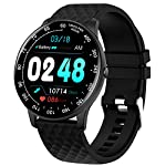 Smart Watch,Fitness Tracker Watch with Blood Pressure Heart Rate Monitor IP67 Waterproof Bluetooth Smartwatch Smart Bracelet Sports Activity Watch Compatible Android iOS Phones for Men Women Upgraded