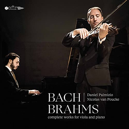 J.S. Bach & Brahms: Complete Works for Viola & Piano