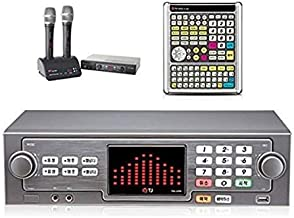 TJ Taijin Media TKR-365HK Home Party Korea Korean Karaoke Singing Machine 1TB HDD System + 2 Wireless Microphones + Professional Remote (TIR-304K) Set /Follow-up TKR-304K