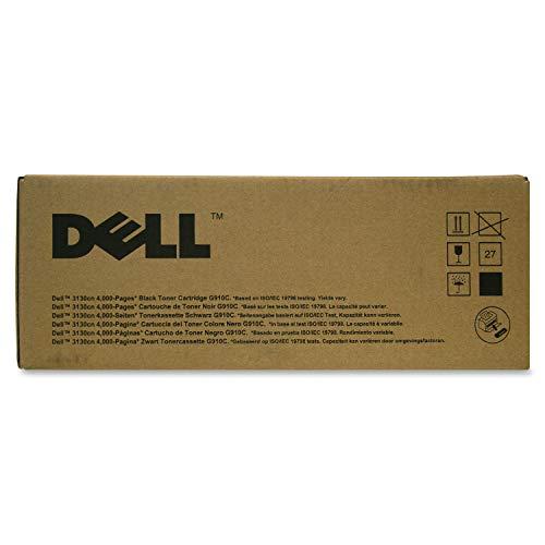 Dell Tonerkassette mit Standard-Kapazität 4.000 Seiten für Dell 3130cn Farb-Laserdrucker Schwarz