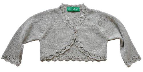 Kristel Mädchen Baby Strickjacke Bolero 902 9025 Grau Gr. 62