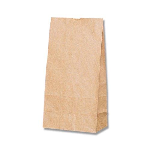 ヘイコー 紙袋 角底袋 No.12 クラフト 18x10.5x35cm 100枚