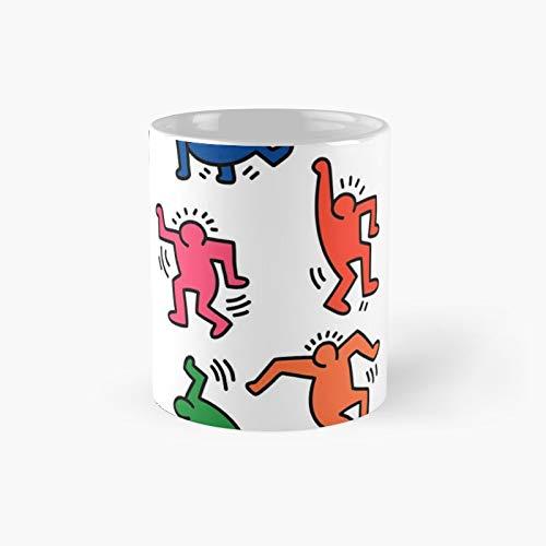Keith Haring Figures Classic Mug Best Gift Funny Coffee Mugs 11 Oz