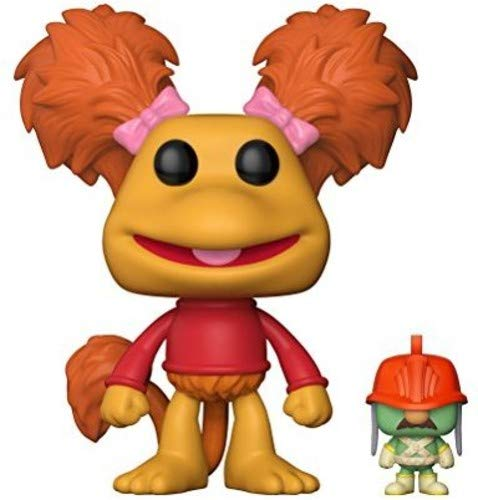 Funko 15043 Pop Red with Doozer - Figura de Vinilo, Multicolor, 9 cm