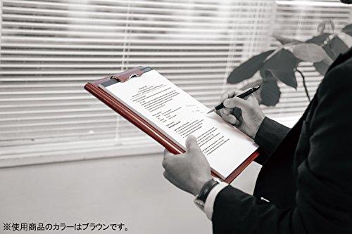 レイメイ藤井クリップファイルzeitVektorA4革製ワインZVF654Z