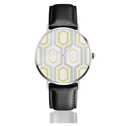 Mortimer - Reloj de pulsera de acero inoxidable con correa d