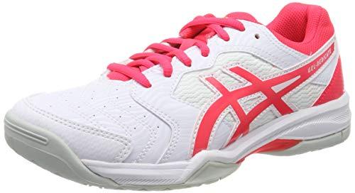 Asics Gel-Dedicate 6, Zapatillas de Tenis para Mujer, Multicolor (White/Laser Pink 102), 37 EU