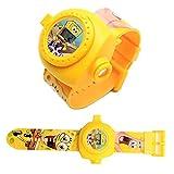 腕時計 プリンセス クォーツ スポンジボブ 入園 入学 卒園 卒業祝い 子供用腕投影時計
