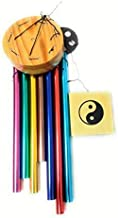 Anish International Wind Chimes for Home Decor Positive Energy with Good Sound 7 Pipes Rods
