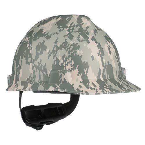MSA 10103908 V-Gard Freedom Series Cap Slotted Protective Helmet, American Camouflage, Standard